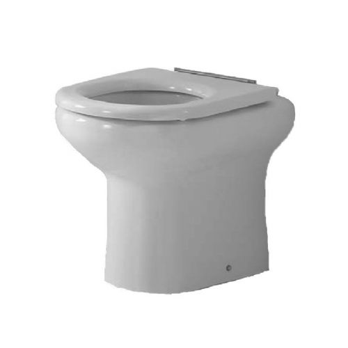 H&L Rimless Flush 480mm High Back-to-Wall Floorstanding WC Pan